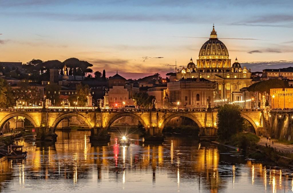 Italien - bro, skumring - rejser