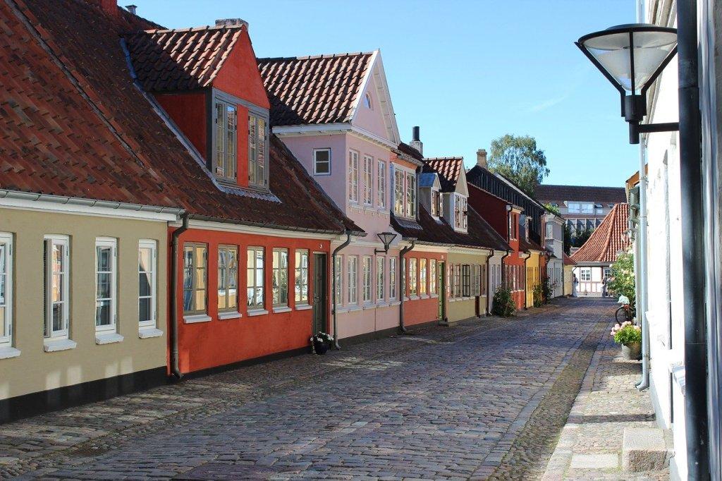 Naglakbay ang Denmark Odense
