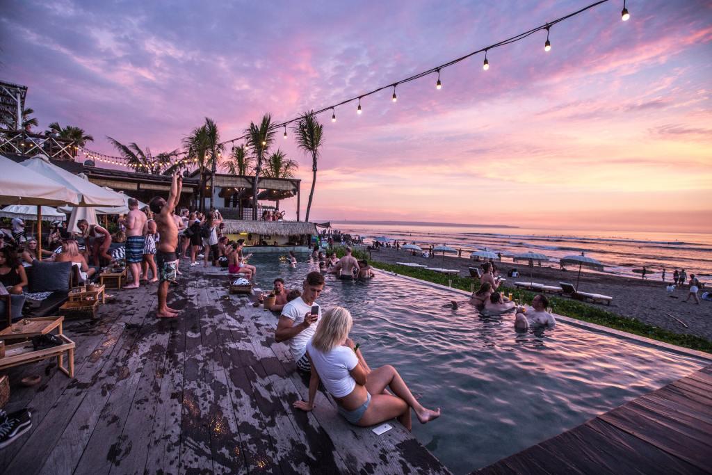 Indonesien Bali strand mennesker rejser