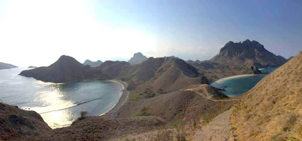 Indonesien Komodo bjerge rejser