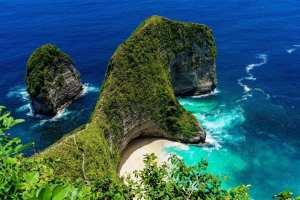 Indonesien Bali Kelingking strand rejser