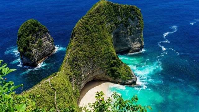 Indonesia Bali Kelingking beach travel