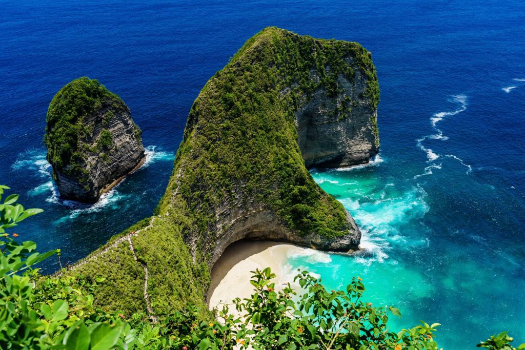 Indonesia Bali Kelingking beach travel