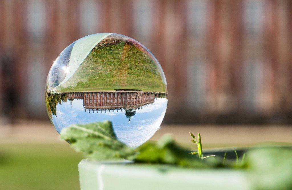 Tyskland - Potsdam, slot, glaskugle - rejser