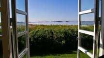 Danmark - fönster, sommar - resa