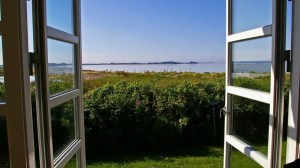 Denmark - window, summer - travel