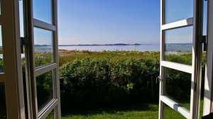 Danmark - vindue, sommer - rejser