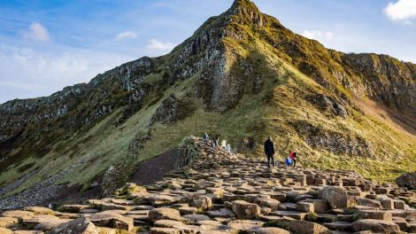 Nord-Irland - Giant's Causeway - Reise