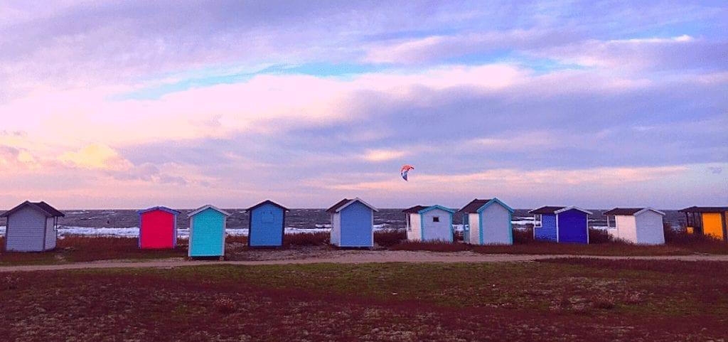 Sverige Falsterbo strand hus rejser