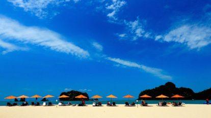 Malezija - plaža Langkawi - putovanja
