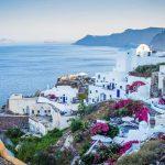 ギリシャ-サントリーニ-旅行