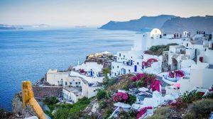 יוון - סנטוריני - נסיעות