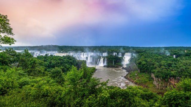 Brésil - Iguazú - Chutes d'eau - Voyage