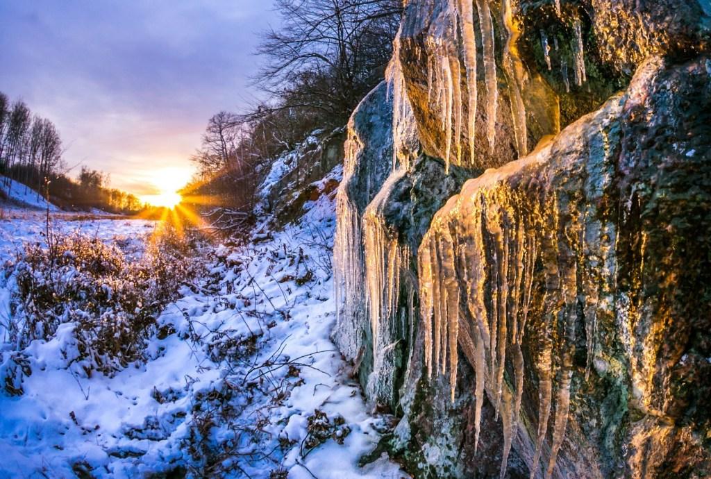 Bornholm - Noel - Bornholm'da Noel pazarı - kış - doğa - seyahat