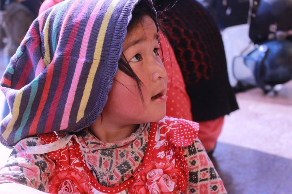 Nepal - Asien - Kumari i Kathmandu - pige - rejser