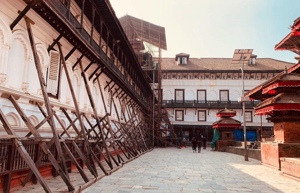 Nepal - Asien - plads - huse - rejser