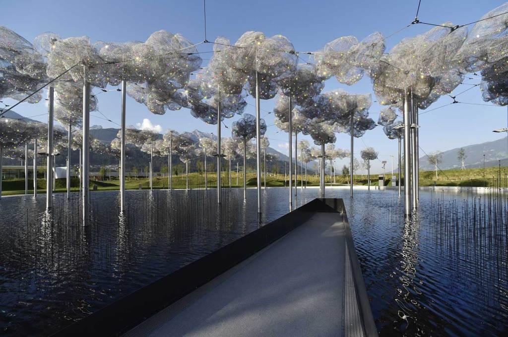 Østrig, Mirror clouds, rejser, seværdigheder i Østrig, rejser, krystalwelten, crystal worlds