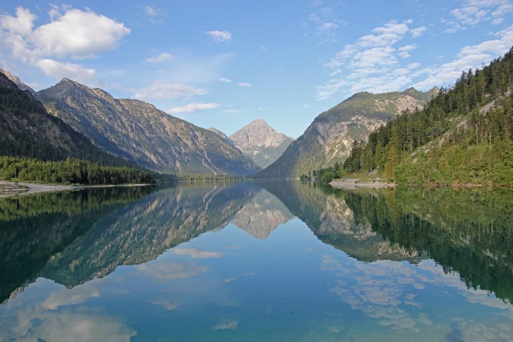 plansee, landskab, bjerge, søer, østrig, rejser, Instagram venlige østrig, seværdigheder i østrig