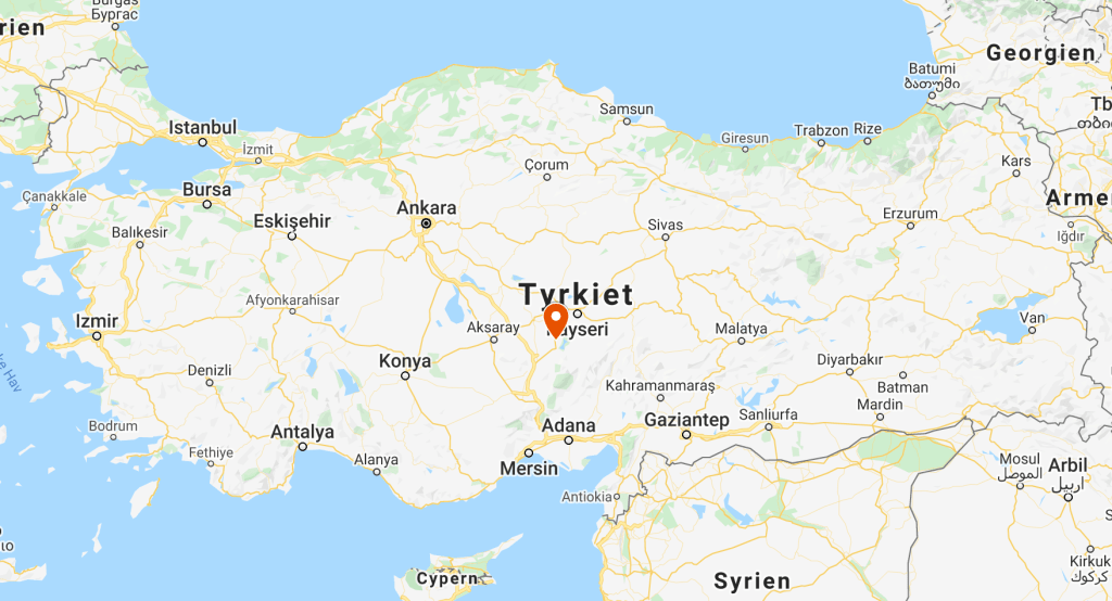 Kappadokien, Tyrkiet, Alanya, Kort, Rejser, Byer i tyrkiet, Kappadokien kort, Kapadokien kort, tyrkiet kort, Alanya kort, Antalaya kort