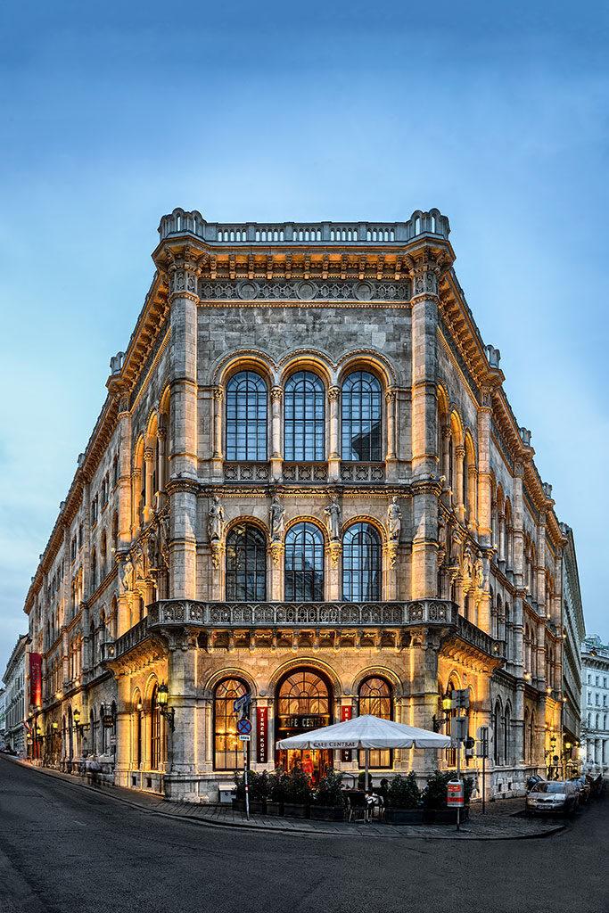 Cafe central - Vienne - Voyage