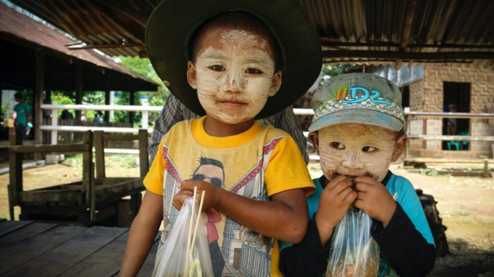 Myanmar - children - travel