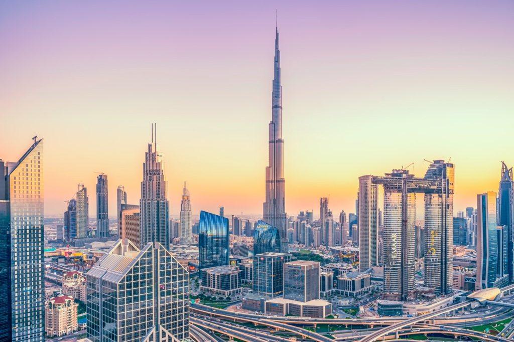 Forenede Arabiske Emirater, skyline, rejser