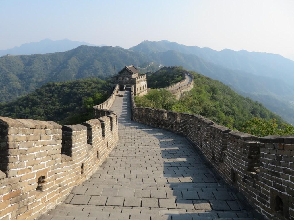 Kina - mur - de 7 vidundere - rejser