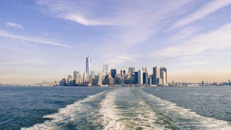 USA - New York - Skyline - Stad - Vatten - Resor