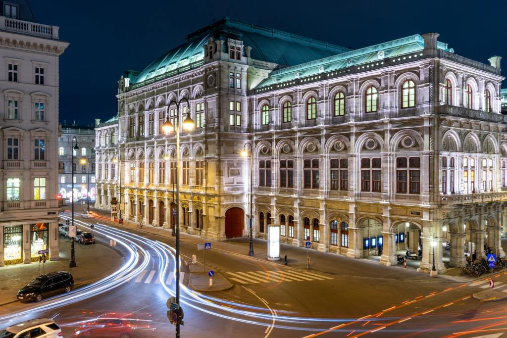 Wien - Østrig - operahus - -rejser