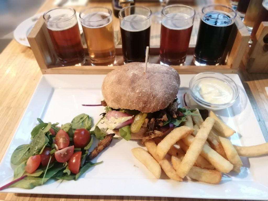 Jelling, Burger, Hrana, restoran, pivo, Jutland, Danska