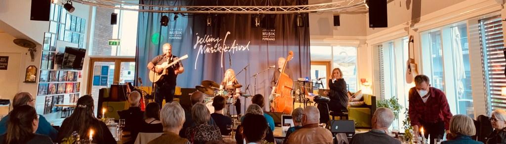 Jellinge, glazbeni festival Jellinge, bend, glazba, glazbeni instrumenti, Jutland, Danska