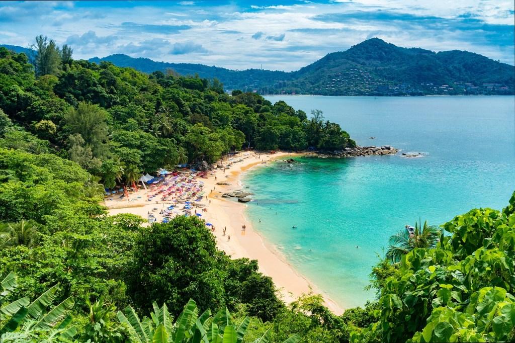Thailand - Phuket, beach - travel