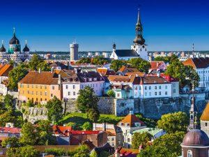 Estland, Tallinn, bybillede, Stjernegaard Rejser, Rejser