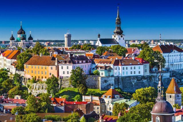 Estland, Tallinn, stadsgezicht, Stjernegaard Reizen, Reizen