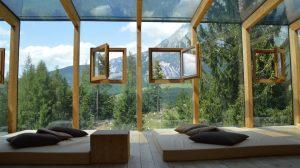 Hotell, vinduer, utsikt - reise