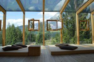 Hotel, windows, views - travel