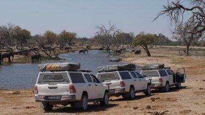 ekspedicija, bocvana, safari, pogon na sva četiri kotača, ture i putovanja rikšom, putovanja
