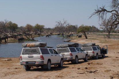 משלחת, בוצואנה, ספארי, ארבע גלגלים, טיולי ריקשה וטיולים, נסיעות