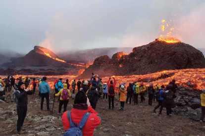 island, travel, volcanic eruption, crochet, panorama travel