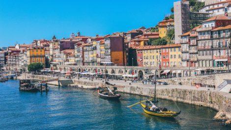 Portúgal, Porto, höfn, bátar, unsplash, ferðalög