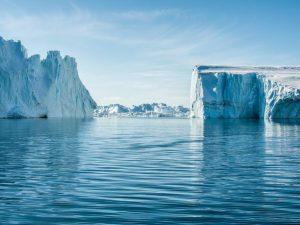גרינלנד, אילוליסאט, פיורד, קרחונים, נסיעות