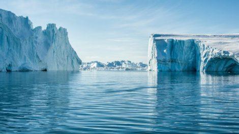 グリーンランド、イルリサット、フィヨルド、氷山、旅行