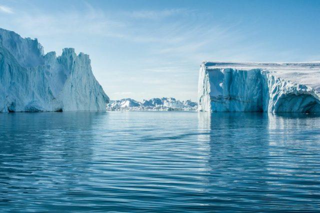 Groenland, Ilulissat, fjord, icebergs, voyage