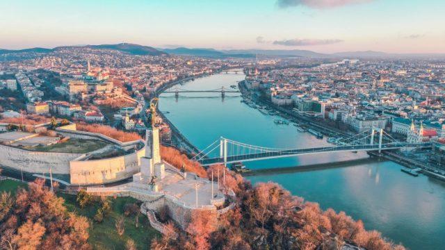 ドナウ川、クルーズ、ブダペスト、ハンガリー、旅行、vitus旅行