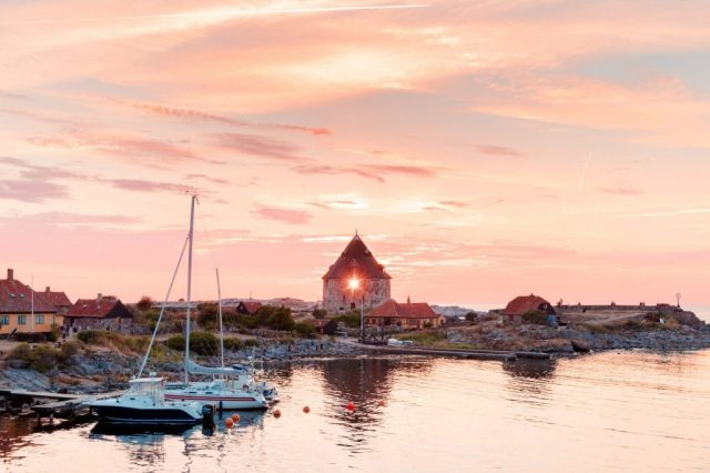 גודהם, שקיעה, נסיעות, בורנהולם, חופשה בדנמרק, נסיעות באוטובוסים, נסיעות ויטוס, דנמרק