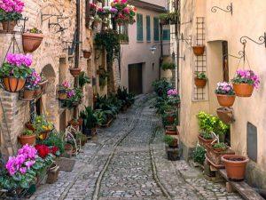 Umbria, Trevi, Italya, Paglalakbay, mga deal sa paglalakbay, paglalakbay sa vitus, paglalakbay sa gastronomic