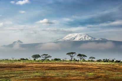 Kilimanjaro, berg, safari, afrika, resor