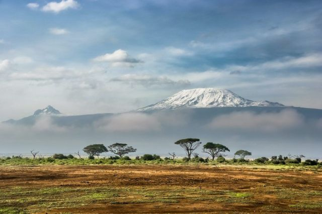 Kilimandjaro, montagne, safari, afrique, voyage