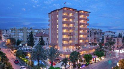 Turcja, Alanya, May Flower Apart Hotel, podróż