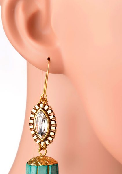 Evil Eye Earrings (RJE394)-0